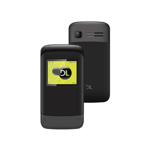 Celular Dl Yc Flip Dual Chip Tela 1.8 - 230 Flip - Preto
