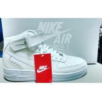 Tênis Bota Cano Longo/curto Nike Air Force 1 Unissex Promoçã