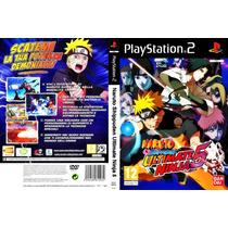 Jogo - Naruto Shippuden - Ultimate Ninja 5 - Playstation 2