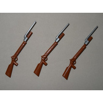 Playmobil Armas P Wester Soldados ... 3 Espingardas C Punhal