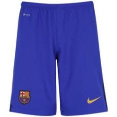 3beae1bf9e Calção Do Barcelona Jogador Vinho Azul Laranja Shorts Nike - R  59 ...