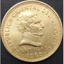 Moeda Do Uruguai 10 Pesos 1965