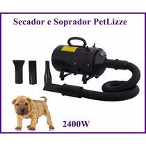 Secador Pet Shop 2x1 Função Soprador - Profissional 2400w