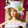 Chapéu De Luxo / Gala Para Boneca Barbie * Acessório