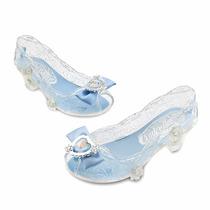 Sapato Da Cinderela Original Disney Store Com Salto