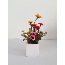 Mini Arranjo De Flores Do Campo Artificiais