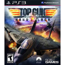 Jogo Ps3 Top Gun Hard Lock Original Lacrado Mídia Física