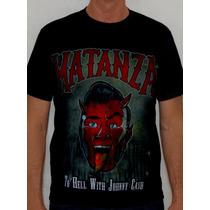 Camiseta Matanza - To Hell With Johnny Cash