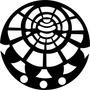 Quadro Mandala Mdf Crú Escultura Parede Vazada 50cm Globo02m