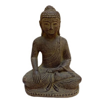 Escultura Budista Pedra Para Jardim Arte Bali Buda