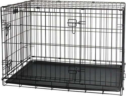 Gaiola Para Cachorro Tipo Americana Pawise Em Aço Inox N4