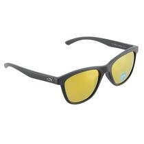 Óculos Feminino Oakley Moonlighter Matte Black 24k Polarized
