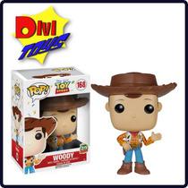Funko Pop! Woody Nova Versão - Toy Story 20th Pronta Entrega