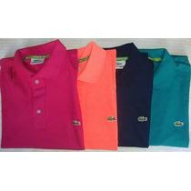 Kit C/10 Camisas Camisetas Polo Várias Marcas Atacado Oferta