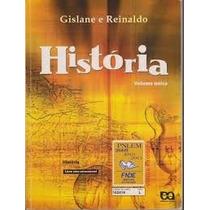 Livro História Volume Único - Gislane E Reinaldo