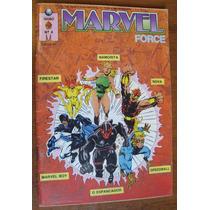 Gibi Super Heróis Marvel Force Novos Guerreiros Antigo