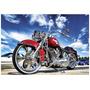 Quadro Decoração Carros Antigos Classicos Motos 44x30 Cm