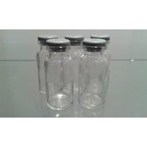 Frasco Penicilina 10ml C/ Borracha Kit Com 100