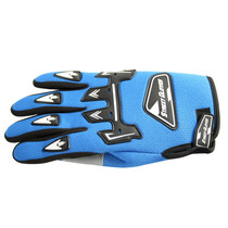 Luva Motocross Motoqueiro Emborrachada Resistente - Azul