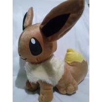 Boneco Pelúcia Eevee Pokémon 25 Cm Compre Sem Juros