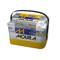 Bateria Automotiva Moura 60ah - Ampéres - M60gd