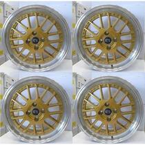 Jogo De Rodas Sportivas Aro17 Bbs K50 Corsa Celta Onix Monza