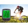Velocimetro Digital Para Bike C/ Intensa Luz Noturna Com 24