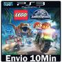 Lego Jurassic World [ Play3 Ps3 Psn *** Jogo Mídia Digital ]