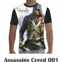 Camisa Camiseta Games Personalizada Assassins Creed Ps3 Ps4