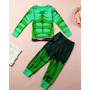 Pijama/ Fantasia Hulk Longo