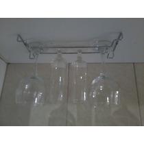 Porta Taças Em Inox Med,0,25 X 0,12 Cmts Inox .