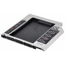 Adaptador Segundo Hd Ssd 2.5 Sata 9.5mm Caddy Macbook