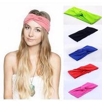 Turbante Feminino Faixa Headband Moda Retrô Vintage Annita