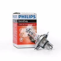 Lâmpada Do Farol Philips Extra Duty H4 - 12v-35/35w