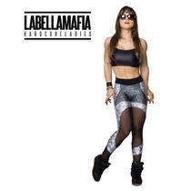 Calça Legging Labellamafia Cl209 Preta Promoçao Frete Gratis