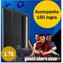 Playstation 3 1tb Tera Seminovo 150 Jogos Originais Promoção