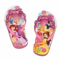 Disney Store - Princesas Sandália Plataforma Chinelo