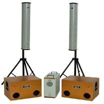 Sistema Som Meteoro Vertical Line Caixa/sub/power1600w,11840