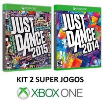 Just Dance 2015 + 2014 - Xbox One - Midia Fisica, Lacrado!