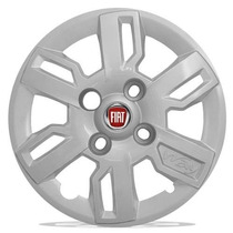 Jogo Calotas Aro 13 Fiat Uno Mille-way-fire- Economy