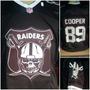 Camisa Camiseta Raiders Futebol Americano Nfl Atacado Varejo