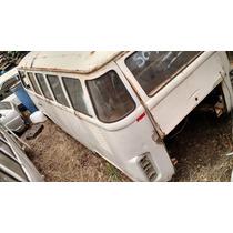 Vw Volkswagen Perua Kombi Sucata 1995 Branca Carcaça Peças