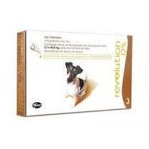 Anti Pulgas Carrapatos Revolution 12% Pfizer Cães 5 À 10 Kg.