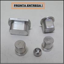 Kit Buchas Trambulador Em Alumínio Para Gol G3 Giii