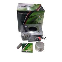 Cilindro Motor Kit Pistao+anel+pino+trava Ybr/factor/xtz 125