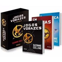 Box Trilogia Jogos Vorazes - 3 Livros Novos - Frete Grátis