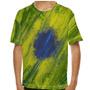 Camiseta Brasil Colors Explosion Infantil