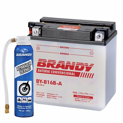 Bateria Cagiva Elefant E900 Conv. Brandy By - b16b - a + Rep.