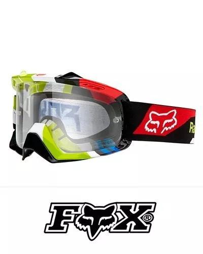 Óculos Fox Airspc Intake Verde vermelho 7c2115acec