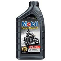 Óleo Motor Mobil Super Moto 4t 20w-50 Api Sl Jaso Ma2